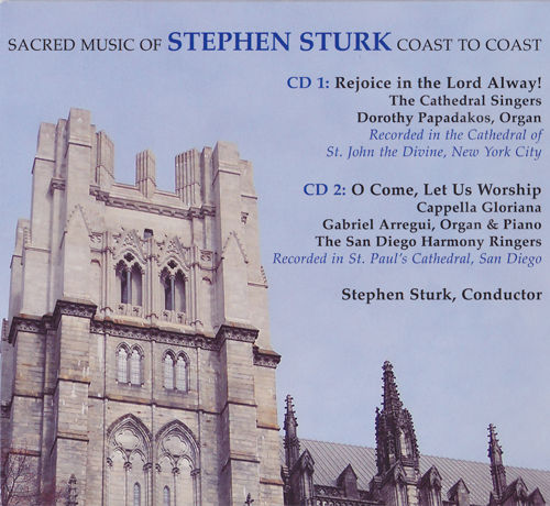 Sacred Music of Stephen Sturk